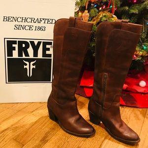 Frye Brown Jackie boot 5.5